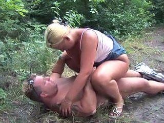 Anal Blonde Clothed Jeans Mature Outdoor Riding Skirt