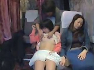 Asian Bus Car Teen