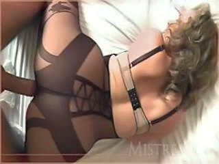 Doggystyle Lingerie Mature Pantyhose