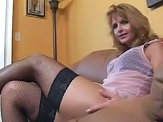 Fishnet Lingerie Mature