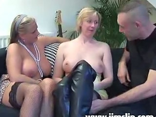 British Milf Chicks Getting Anal Fucked