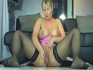 Mature Stockings Squirt