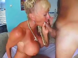 Big Tits Blonde Blowjob Mature