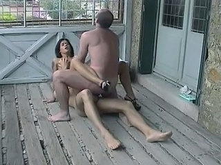Anal Extreme French Outdoor Threesome