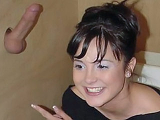 Brunette Cute Gloryhole