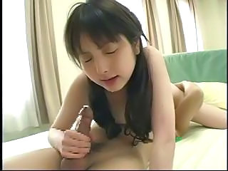 Asian Babe Blowjob Brunette Cute Japanese Pigtail Skinny Student Young
