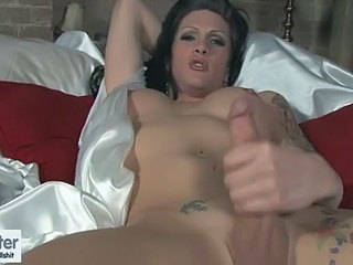 Morgan Strokes in Bed