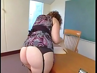 Ass BBW MILF Stockings Teacher