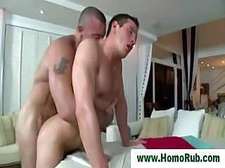Straight Guy Fucked For First Time