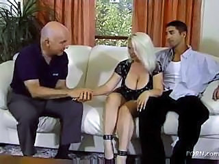 Big Tits Blonde Groupsex MILF Threesome Wife