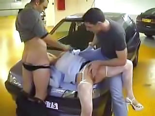 Blowjob Car Clothed Forced Hardcore Public Stockings