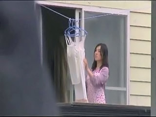 Japanese housewife is vulnera...