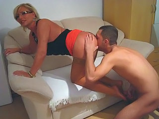 Ass Blonde Clothed Licking Mature