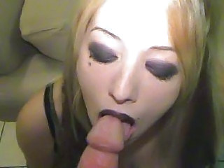 Amatør Blond Blowjob Goter Pov
