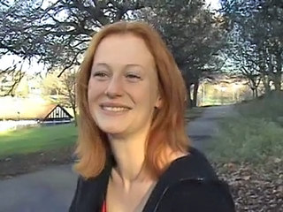 British Mature Outdoor Redhead