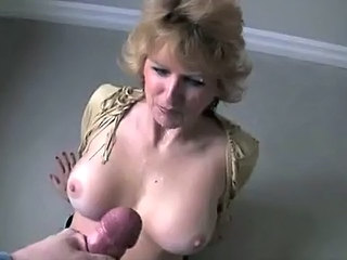 Big Tits Blonde Cumshot Facial Mature