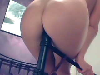Ass Insertion Solo Webcam