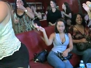 Brunette With Huge Natural Breasts Gives Blowjob At Drunken Party