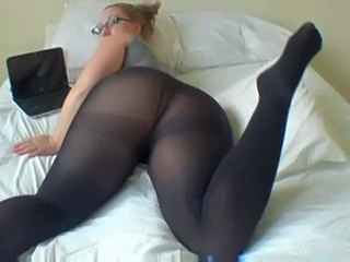 Amateur Ass Glasses Pantyhose