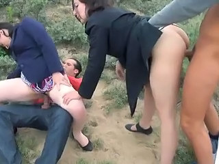 Brunette Clothed French Groupsex Hardcore Outdoor Riding