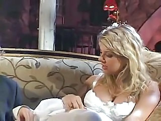 Blonde Bride Cute Natural