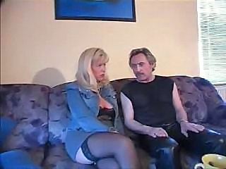 Amateur Blonde German Mature Stockings