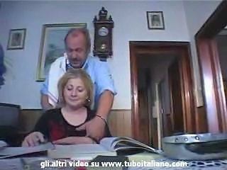 Amateur Daddy Daughter Italian Old and Young