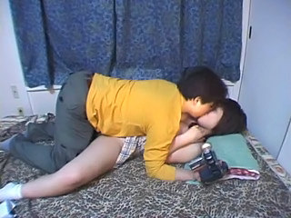 Amateur Asian Japanese Kissing