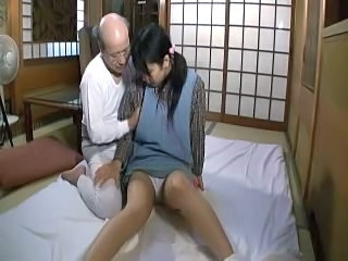 Asian Brunette Clothed Daddy Daughter Old and Young