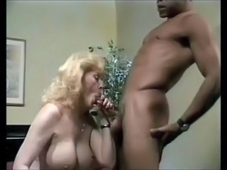 Big Tits Blonde Blowjob Interracial Mature Vintage