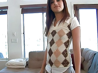 Amateur Brunette Cute Young