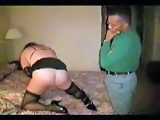 Guy Tapes Submissive Wife With D...