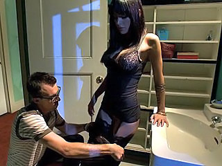 Submissive Husband Watching His...