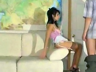 Gorgeous amateur Gets her dick