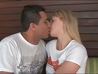 Kissing Strapon Teen