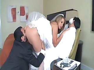Amazing Bride Groupsex Hardcore