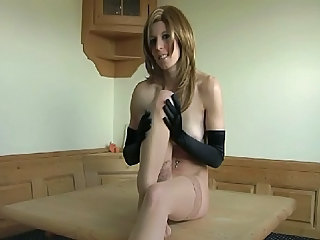 Amazing Fisting Stockings Young