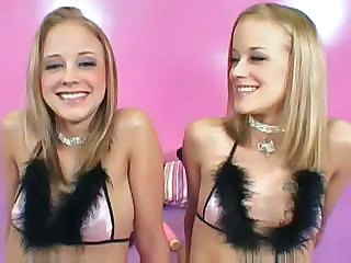 Blonde Cute Groupsex Twins