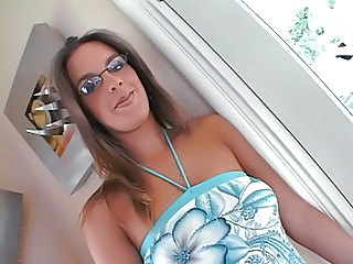 Hot Teen In Glasses Banged By A...