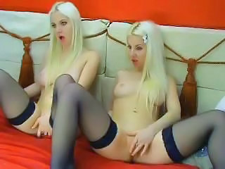 Alex And Mandy Blonde Twins Webc...