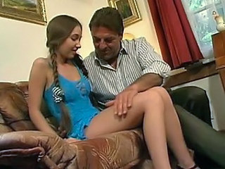 Cute Teen Gets An Anal Banging From An Older Big Cock