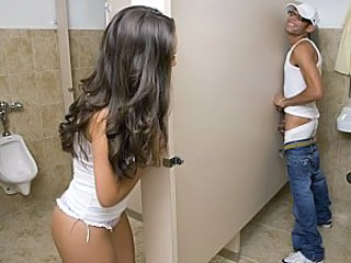 Gloryhole Long hair