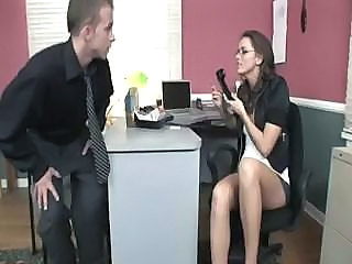 Secretary fucked at work
