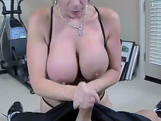 Big Tits Handjob Swallow