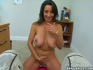 Busty mom Persia in the casting office