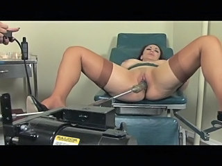 Hot slutty babe that loves machine fucking