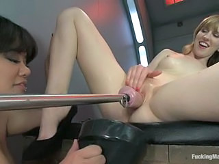 Mallory Malone gets fisted and machine fucked