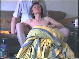Brunette Wife Gets Nailed At Home