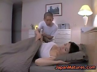 Japanese Masturbating Mature