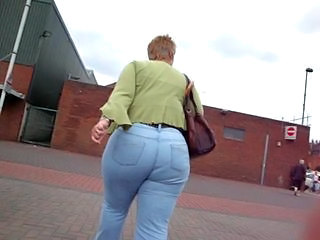 Ass Granny Outdoor